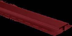 """Планка """"соединительная"""", 3м, цвет Красный"""