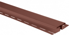 """Планка """"соединительная"""", 3м, цвет Красно-коричневый"""