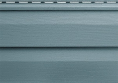 Панель виниловая Альта-Сайдинг серо-голубая, 3,66м