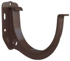 Кронштейн жёлоба ПВХ Элит (цвет коричневый)