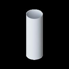 Труба водосточная ПВХ, длина 4 м Элит (цвет белый)